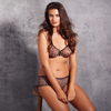 Sheer Animal Print Bra Fashion Gossard Glossies