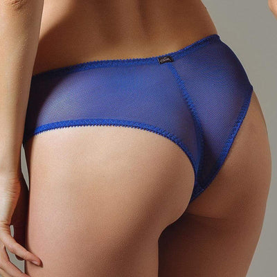 SEMI SHEER TANGA PANTY CLAUDETTE NEW WAVE (CD102027017) Claudette Lingerie Tanga Panty