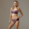 Sheer Lace Embroidered Bikini Panties Lavinia Plumy