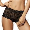 Sheer Lace French Boyshorts Panty Lisca Onyx