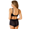 TRANSPARENT LACE HIGH CUT SHAPEWEAR PANTY ROSME POWERLACE