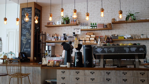 Cosy design for a cafe business