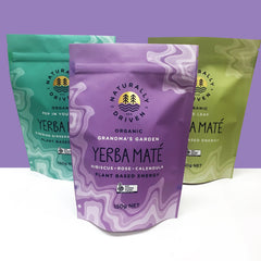 Custom printed Stand Up Pouch tea packaging
