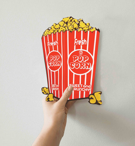 Popcorn Shaped Pouch Packaging