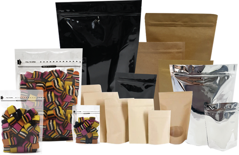 Available Food Packaging Materials and Sizes