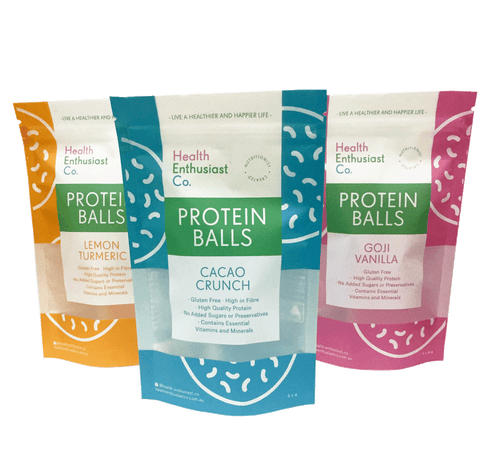 Protein Balls Packaging