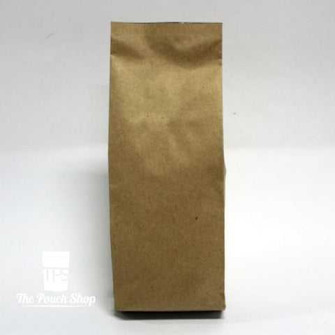 250g Side Gusset Coffee Bag- Kraft Paper