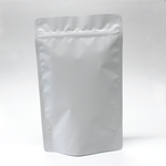 500g Stand Up Pouch with Zipper Closure- Matt White.