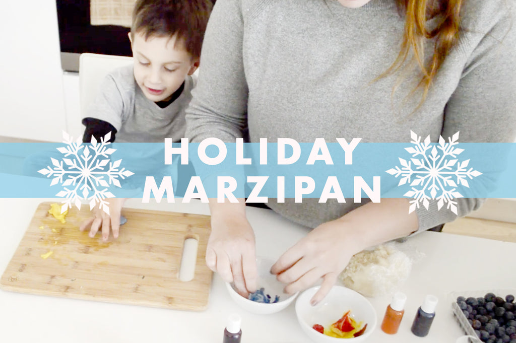Holiday Marzipan: Healthy Almond Paste!