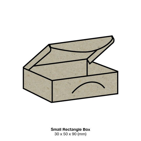 Botany Small Rectangle Favour Boxes (10 pack)