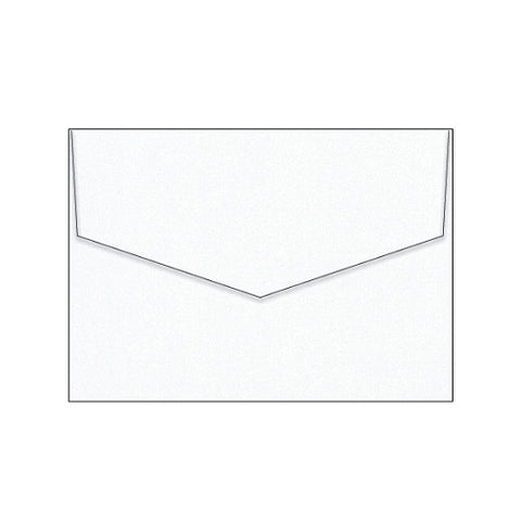 Glamour Puss Diamond White Envelope (10 Pack)