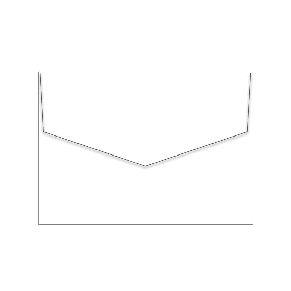 Marshmallow Crisp White | 130 x 190mm Envelopes | Triangle Flap (10 pack)