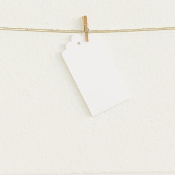 Deco Tags White (20 pack)