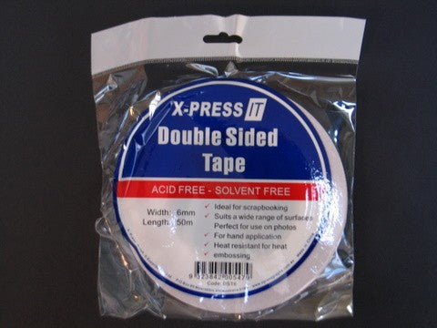 X-Press IT Double Sided Tape 6mm