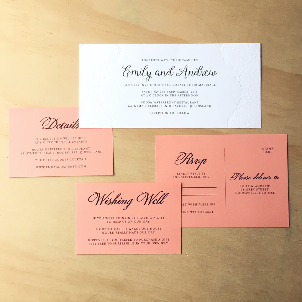 Paper Bliss | Invitations and paper for weddings and special events