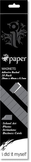 Adhesive Backed Magnets - 10 pack