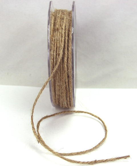 Natural String/Twine - 25m Roll - Paper Bliss