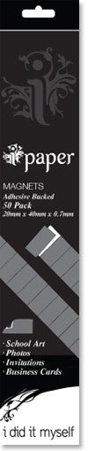Adhesive Backed Magnets - 50 pack