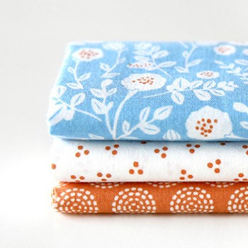 Quarter Fabric Pack (3 pieces) - Beach, by Dailylike