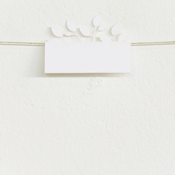 Tree of Love, Laser-cut White Placecards (10 pack)