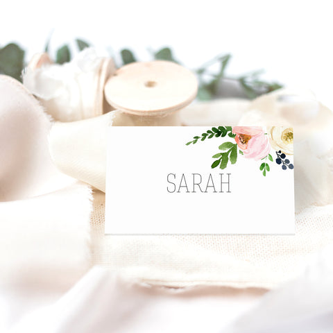 Blossom wedding place cards - Paper Bliss