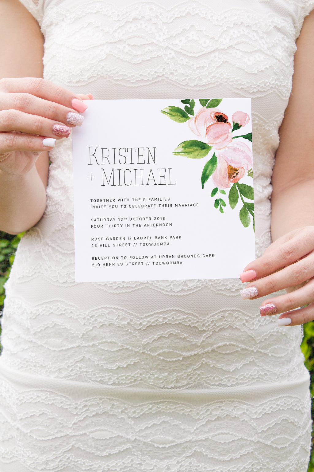 Blossom Invitation Suite - Paper Bliss