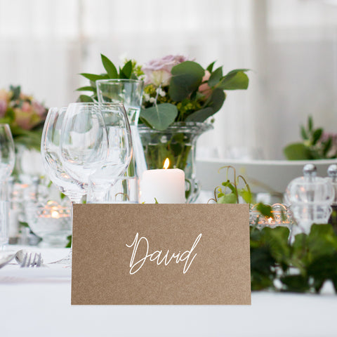Buffalo wedding place cards - Paper Bliss