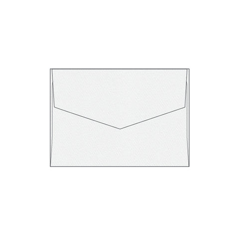 Via Felt Bright White | C6 (114 x 162mm) Envelopes (10 pack)