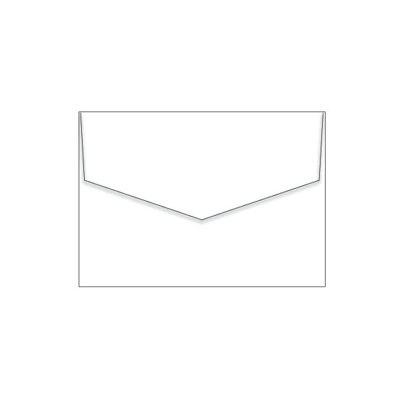 Marshmallow Crisp White | C6 (114 x 162mm) Envelopes (10 pack)