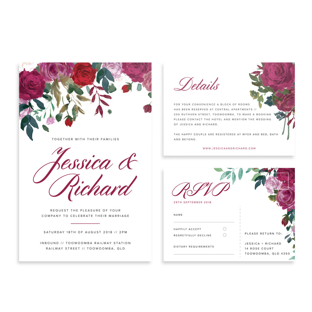 Paper bliss invitations and paper for weddings and special events 3 stopboris Choice Image