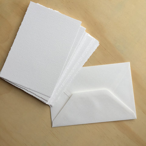 Medioevalis White Envelopes (10 pack) - Paper Bliss