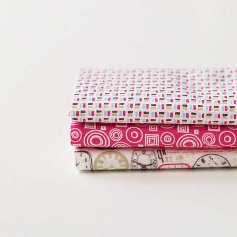 Quarter Fabric Pack (3 pieces) - Daydream, by Dailylike