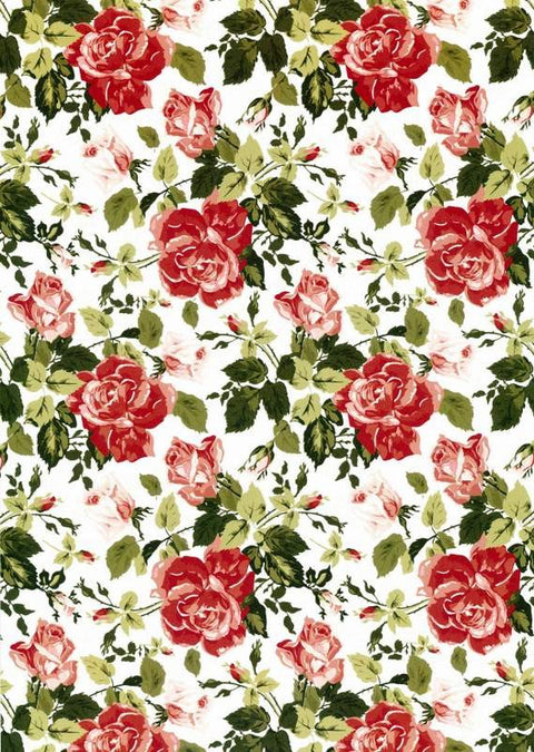 Antique Rose Red