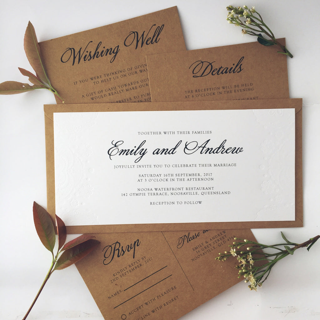 Paper Bliss Invitations and paper for weddings and special events