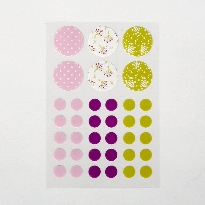 Masking Stickers - Childhood, Bouquet