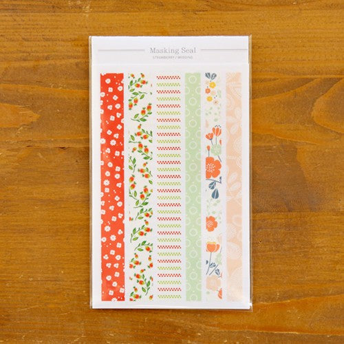 Masking Seals - Strawberry Wedding, Dailylike