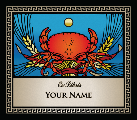Cancer the Crab • Ex Libris Your Name