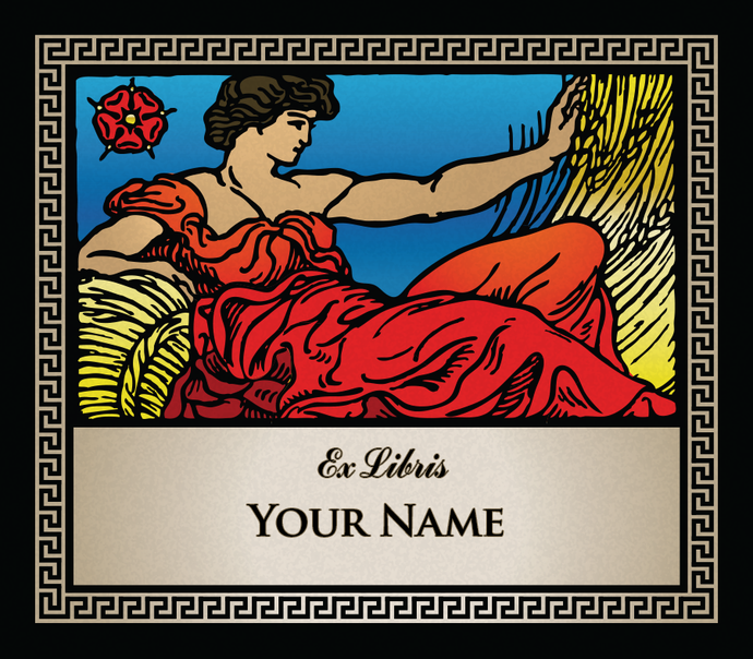Virgo the Virgin • Ex Libris Your Name