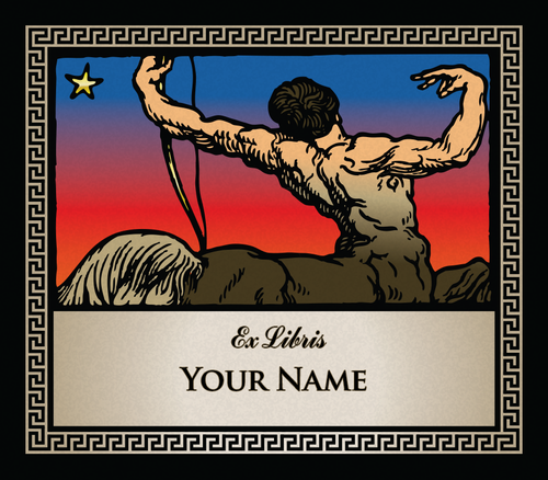 Sagittarius the Archer • Ex Libris Your Name