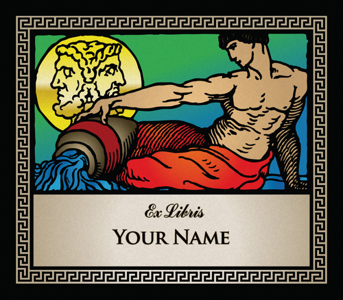 Aquarius the Water Bearer • Ex Libris Your Name