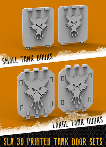 Blood Wolf Tank Doors
