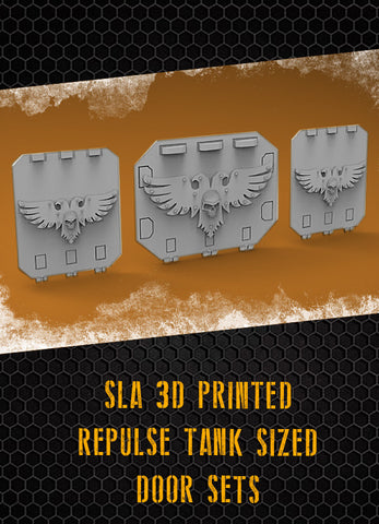 Skull Aquila Repulse Tank Doors