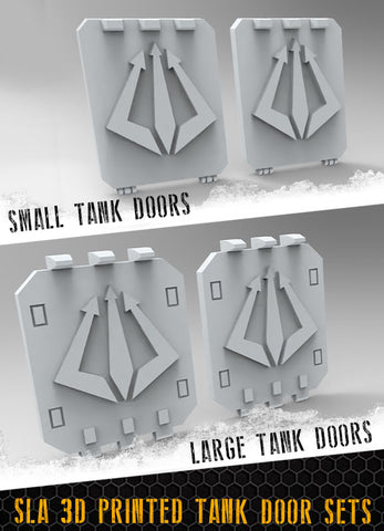 Tridents Tank Doors