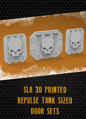 Skulls Repulse Tank Doors