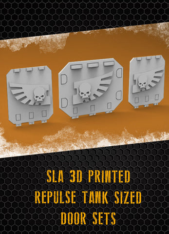 Skull Wing Repulse Tank Doors