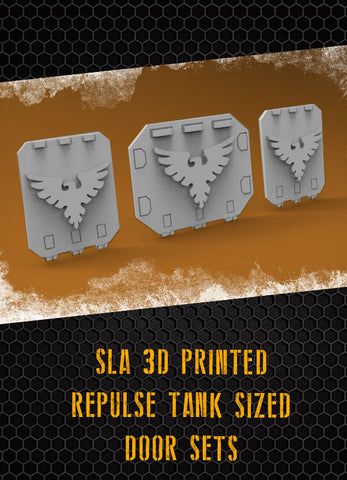 Sparrowhawks Repulse Tank Doors