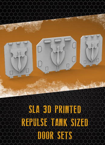 Vengeance Shield Repulse Tank Doors
