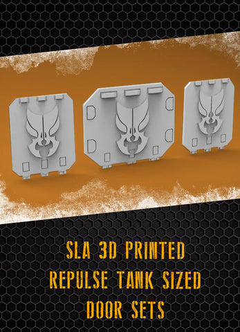 Zorak Repulse Tank Doors