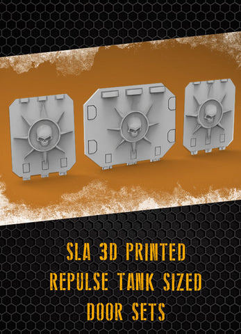 Skull Star Halo I Repulse Tank Doors