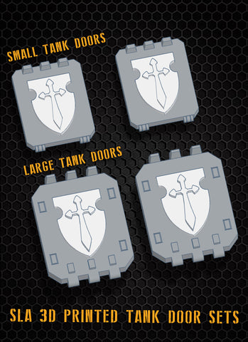 Vengeance Shield Tank Doors